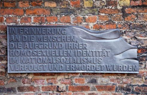 Mahnmal für im Nationalsozialismus verfolgte Homosexuelle